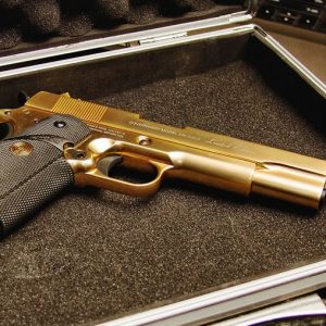24K Gold Airsoft Pistol