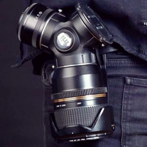 3-In-1 Rotating Camera Lens Holder