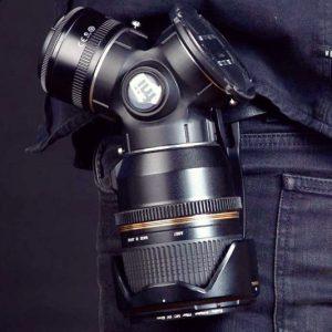 3-In-1 Rotating Camera Lens Holder