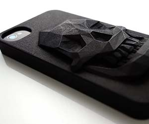 3D Skull iPhone Case