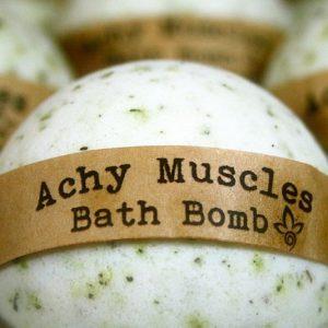 Achy Muscles Bath Bomb