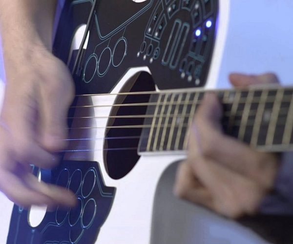 Acoustic Guitar Wireless MIDI Controller