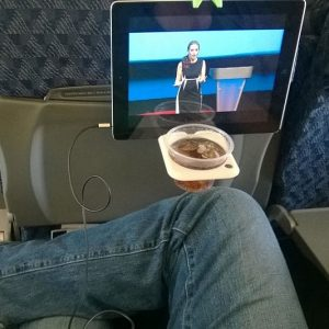 Airplane Cup And Tablet Hook