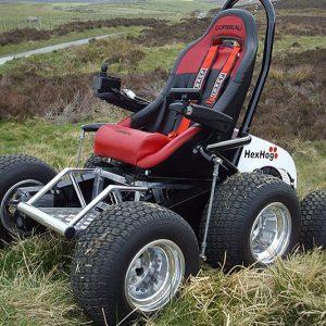 All Terrain Vehicle Wheelchair