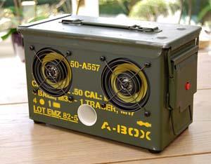 Ammo Speaker Box