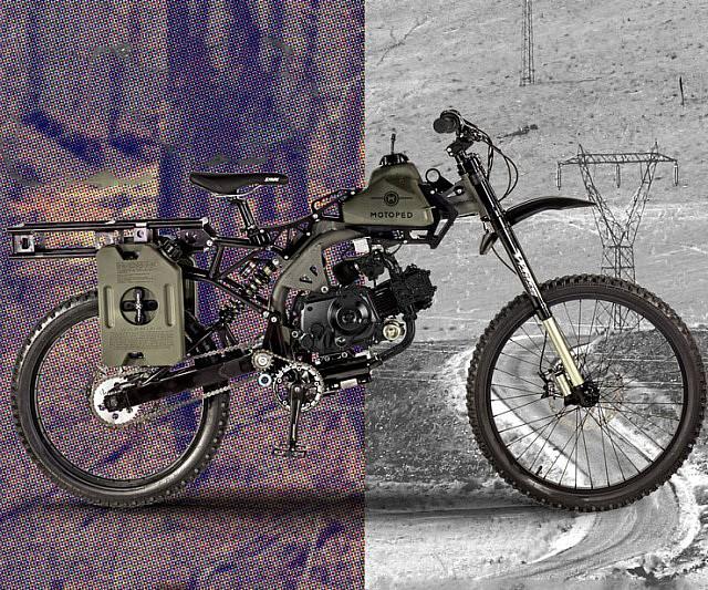Apocalypse Survival Motorized Bike Interwebs