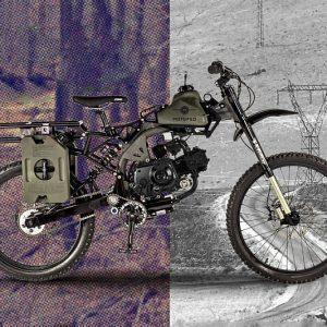 Apocalypse Survival Motorized Bike