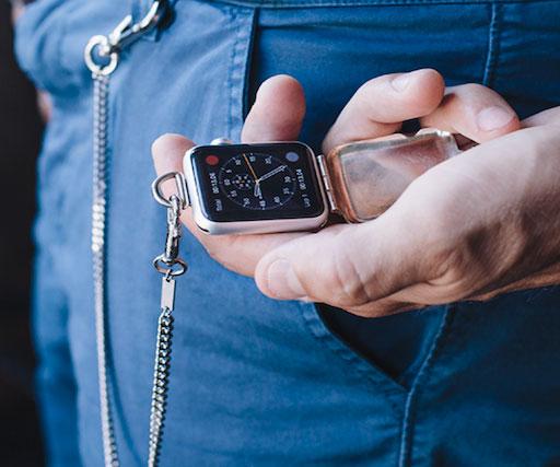Apple Pocket Watch Attachment
