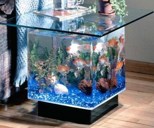 Aquarium Night Stand Table