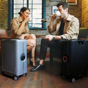 Autonomous Auto-Following Suitcase