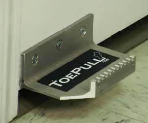 Bathroom Door Toe Pull