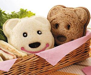 Bear Sandwich Mold