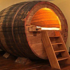 Beer Barrel Bed