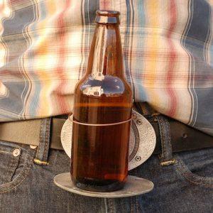 Belt Buckle Beer Holder