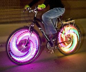 Как на велосипед сделать свет