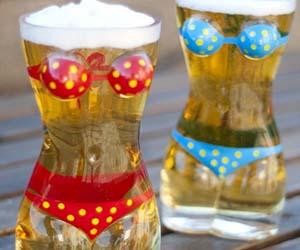 Bikini Beer Mugs