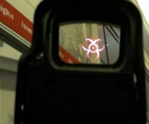 Biohazard Scope Reticle