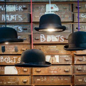 Bowler Hat Lights