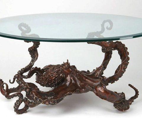 Bronze Octopus Coffee Table