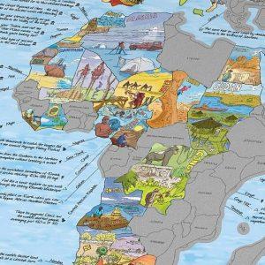 Bucket List Scratch Off World Map