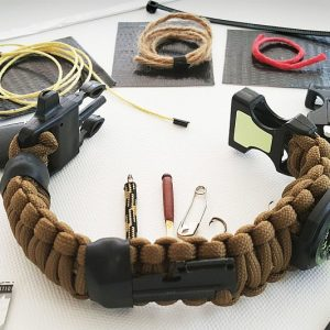 Bug Out Paracord Bracelet