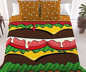 Burger Bedset