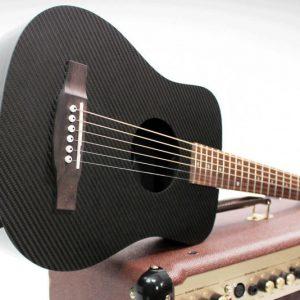 Carbon Fiber Acoustic Electric Guitar