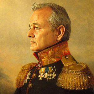 Celebrity Soldier Portraits