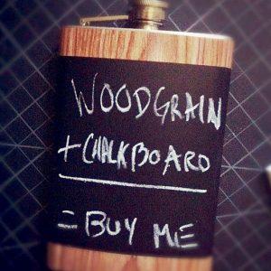 Chalkboard Flask