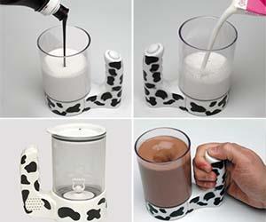 Chocolate Milk Mixer Mug