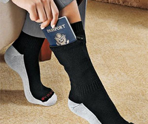 Concealed Pocket Socks