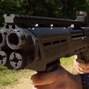 DP-12 Double Barrel Pump Shotgun