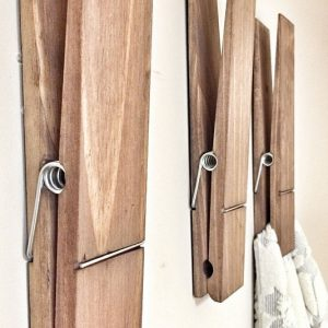 Decorative Jumbo Clothespins