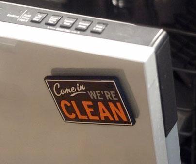 Dishwasher Clean/Dirty Flip Sign