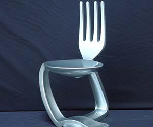 Eating Utensils Chair