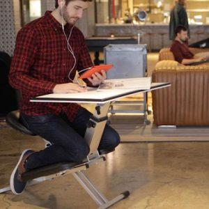 Ergonomic Folding All-In-One Desk