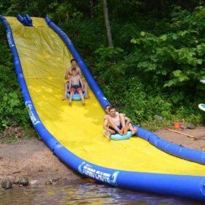Extreme Turbo Chute Water Slide