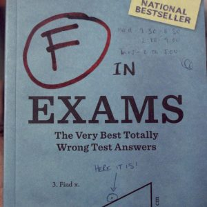 Failed Exams Answers Book