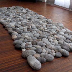 Felt Stones Rug