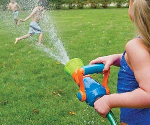 Firefighter Water Blaster Toy