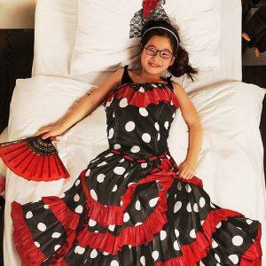 Flamenco Dress Duvet Cover