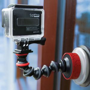 Flexible Suction Cup Camera Mount