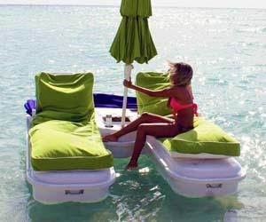 Floating Cabana Lounger