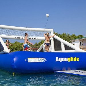 Floating Volleyball Court