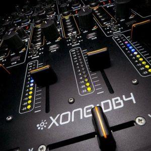 Four Channel Digital Mixer