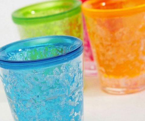 Freezable Gel Shot Glasses