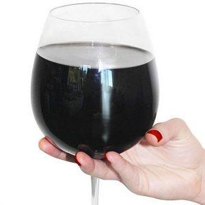 Full Bottle Of Wine Glass