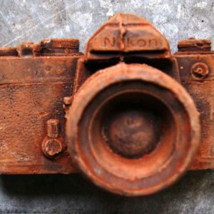 Full Size Vintage Chocolate Camera