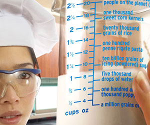 Fun Facts Measuring Cup