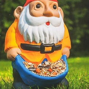 Garden Gnome Bird Feeder